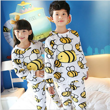pyjamas kids Boys Girls Winter Sleepwear Children Clothes Kids Pajamas Sets Soft Girls Boys pajamas kids Nightwear Homewear