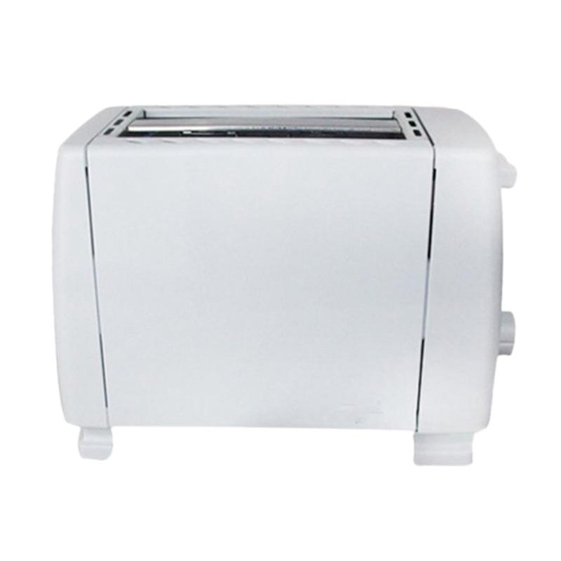 Automatic Bread Toaster Baking Breakfast Machine 750w 5 Gear Stainless Steel 2 Slices Slots Bread Maker Eu Plug