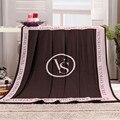 2015 novo cobertor quente cobertores de lã impresso moda lance sólida grosso primavera / outono presente de natal viagem de carro cobertor de acampamento