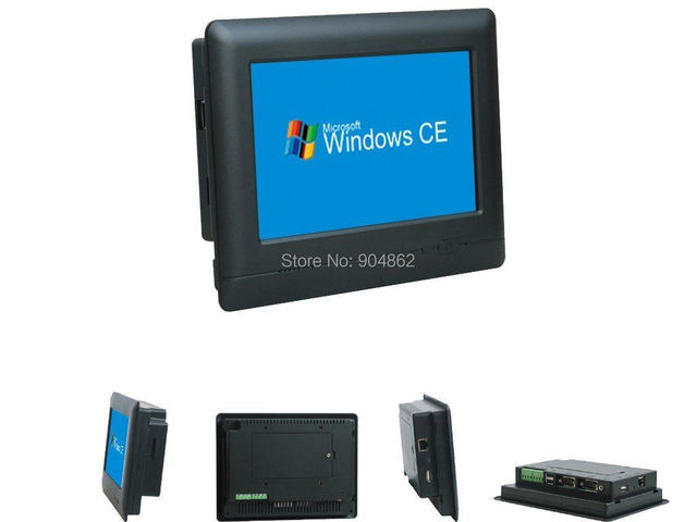 """7"""" Embedded Industrial PC with RS232/RS485, Ethernet port, optional build in GPRS/WIFI/Bluetooth"""