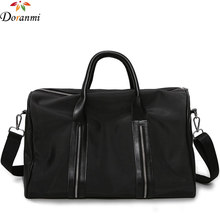 DORANMI Large Travel Tote For Women Brand Designed Oxford Luggage Black Travel  Bags Good Quality Duffle Bags LXB002 b5019203ae