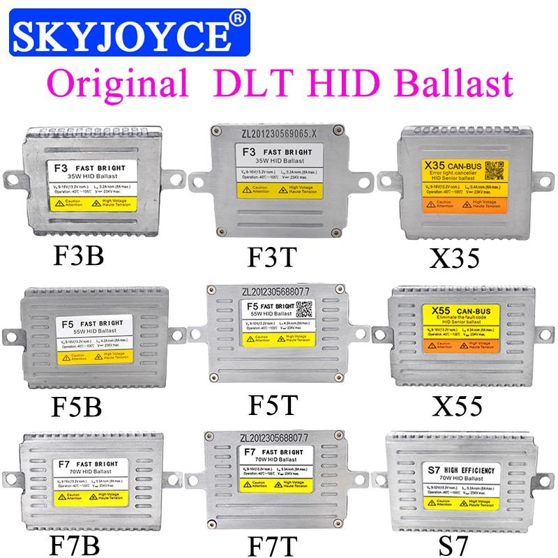 Original DLT HID Ballast AC 35W DLT F3 X3 X35 Fast Bright Canbus