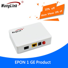 Wanglink 1G GEPON 1 порт ONU EPON OLT 1,25G gepon onu EPON ONU zet onu модем 1ge ftth доставка