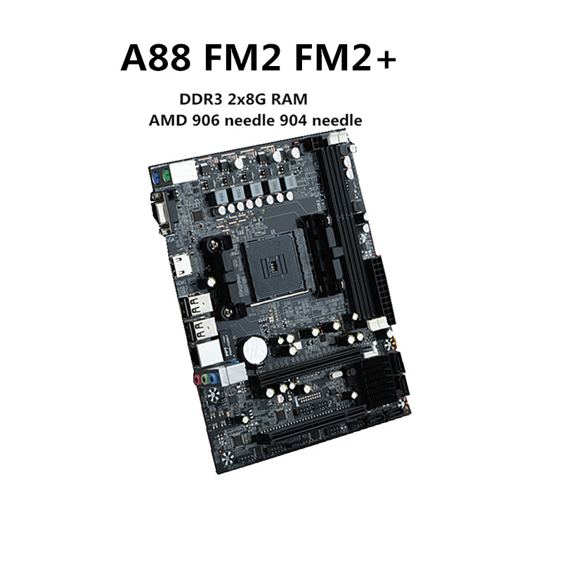 цена на New A88 Desktop motherboard FM2+ desktop motherboard Support DDR3 16G support 7650K VGA HDMI SATA3.0