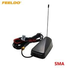 FEELDO 1 комплект автомобиля SMA активная ТВ антенна со встроенным усилителем для цифрового ТВ# AM948