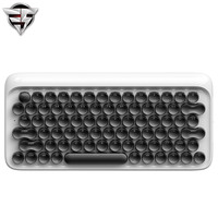 Lofree Dot Bluetooth Mechanical Keyboard Copy Old Style Round Button For Ipad Iphone Macbook PC Computer