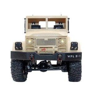 Image 3 - 1/16 caminhão militar de controle remoto fora de estrada modelo de carro rc escalada carro dublê quatro rodas fora de estrada caminhão militar crianças brinquedo