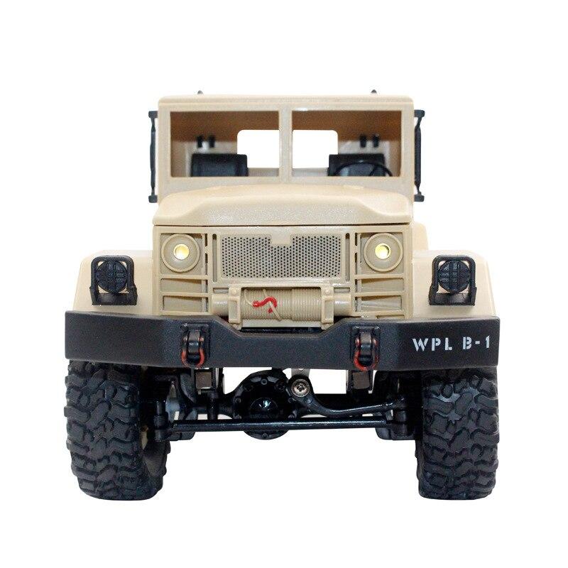 Image 3 - 1/16 пульт дистанционного управления военный грузовик внедорожная Радиоуправляемая машина для скалолазания автомобиль трюк четырехколесный внедорожный военный грузовик детская игрушка-in RC-машины from Игрушки и хобби