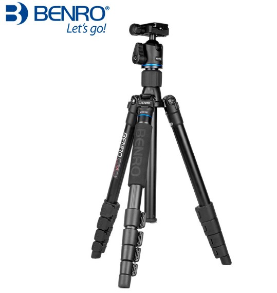 Benro IT15 IT25 Kit Tripod Viaggio in aluminium head sphere