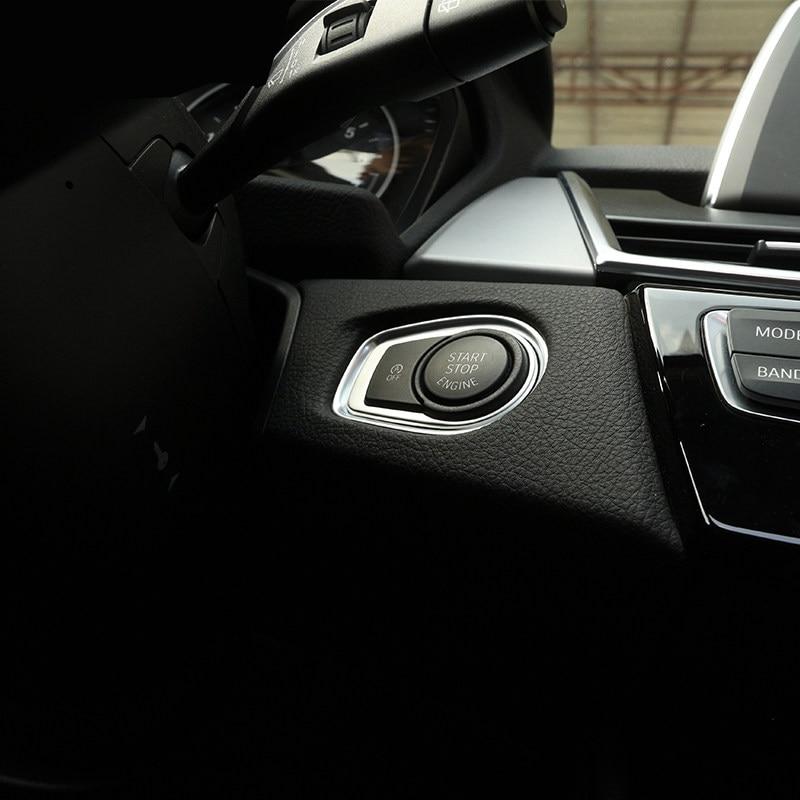 Interior Engine Start Button Cover Trim For BMW 2 Series