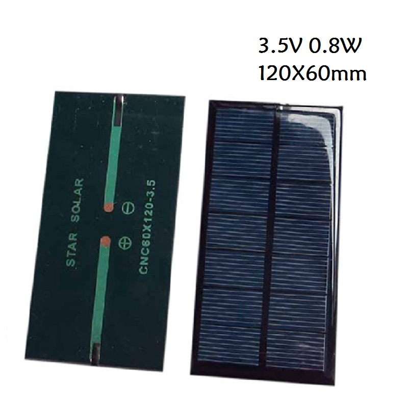 3.5V 0.8W / 12V 1.5W Solar Panel Module Monocrystalline For Battery Cell Phone Charger DIY Model