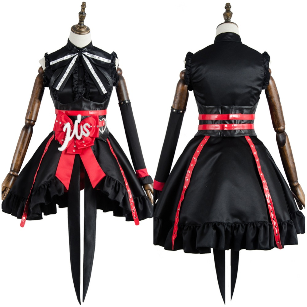 Love Live Arcade 3rd Gen Maki Nishikino Stage Costume Cosplay Suit Dress Outfit Halloween Cosplay For Adult Women