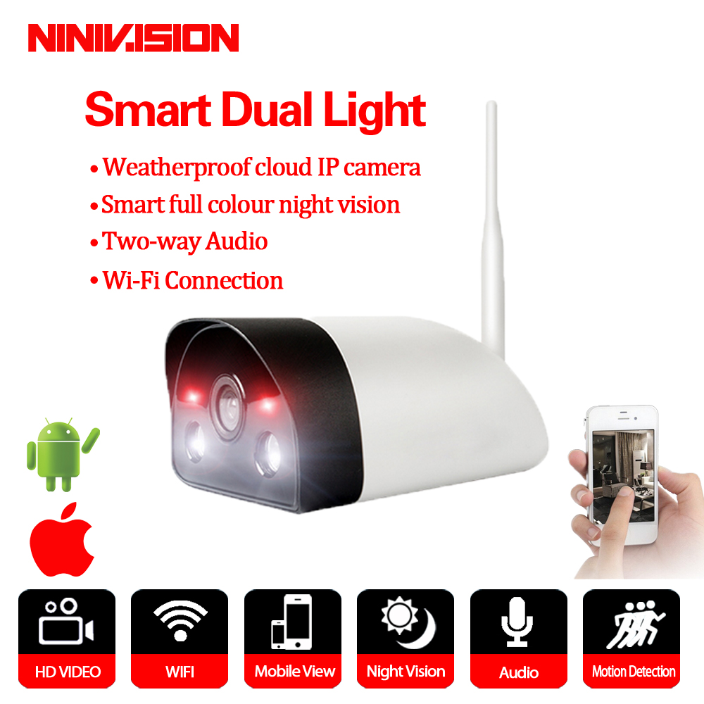 WIFI IP Camera Home Security 1080P outdoor ptz ip wireless camera two way audio smart full colour night vision motion detection