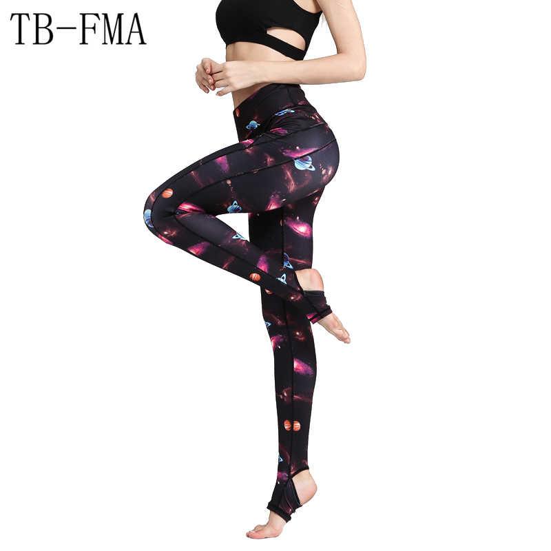 c0546fe9d4576 Yoga Pants Sports Fitness Leggings Women New Sports Tight Mesh Yoga  Leggings Pants Women Running Tights