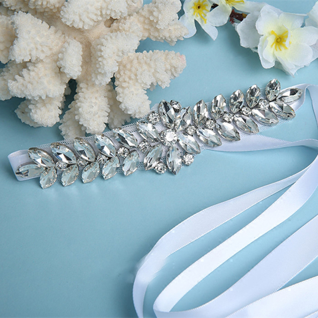 Wedding Accessories Discount Real Picture Amazing Crystal Shinny Cheap Promotion Charming Bridal Belt 2016 Women Sashes