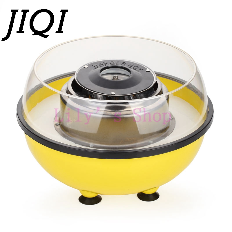 JIQI Electric DIY Sweet cotton candy maker mini portable candy floss sugar machine children girl boy gift childrens day EU USJIQI Electric DIY Sweet cotton candy maker mini portable candy floss sugar machine children girl boy gift childrens day EU US