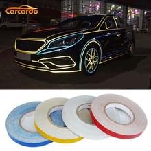 1 Roll 1cm / 1.5cm Car Reflective Sticker 45 Meter Strip Fashion Decorative Line 4 Colors Option FREESHIPPING