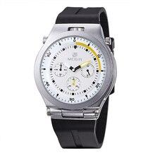 Часы Спорт Мужчины Световой Аналоговый Силиконовый Ремешок Мода Casual MEGIR 2512 Кварцевые Наручные Часы Бесплатная Доставка