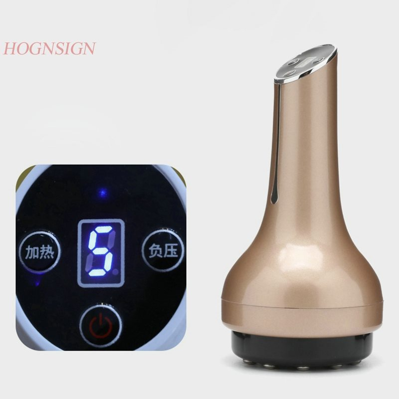 Electric scraping instrument Meridian dredge lymphatic drainage massage brush home suction machine cupping body full body rechar цена