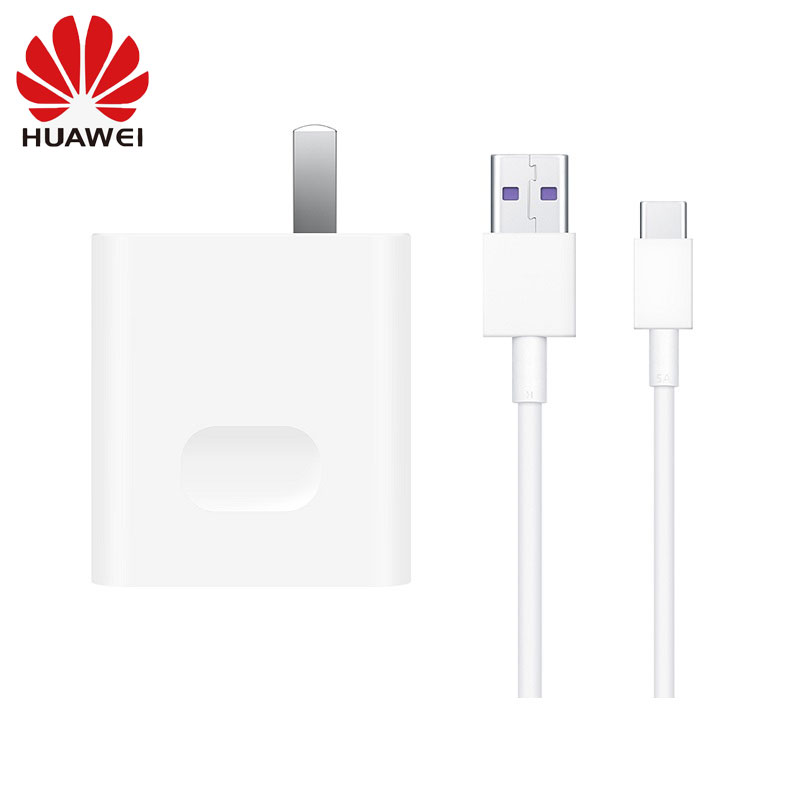 <font><b>Huawei</b></font> <font><b>Supercharge</b></font> Fast Charger 10V 4A 40W <font><b>Adapter</b></font> 5A Type C Data Cable for Mate 20 pro RS Honor 10 Magic 2/P20 pro image