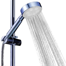 New LED Shower ABS Head Handheld Sprinkler White Colors , Dropshipping Wholesale
