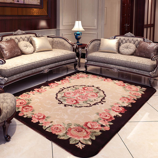 Kingart Washable Rug Living Room Carpet Thick Floor Blanket Yoga Mat Bedroom Fur And Carpets