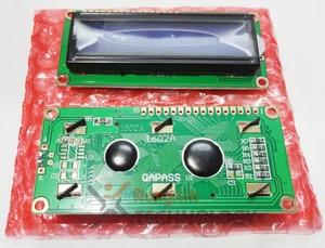 Image 5 - Freies Verschiffen 10PCS LCD1602 1602 modul Blauen bildschirm 16x2 Zeichen LCD Display Modul HD44780 Controller blauen schwarzlicht
