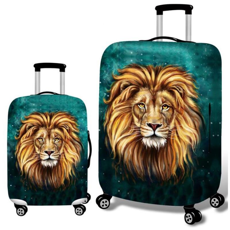 Wild Animal Luggage Protective Cover  1