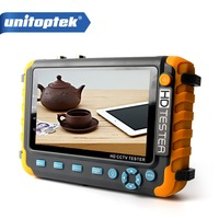1080P 5MP 4 IN 1 CCTV Tester 5 Inch LCD Color Screen AHD TVI CVI Analog