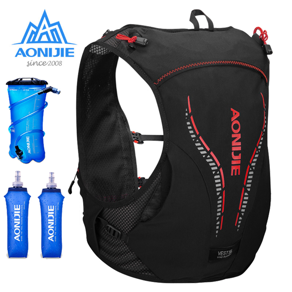 AONIJIE 5L Breathable Running Backpack Outdoor Sports Trail Racing Marathon Hiking Camping Cycling Bag Hydration Vest