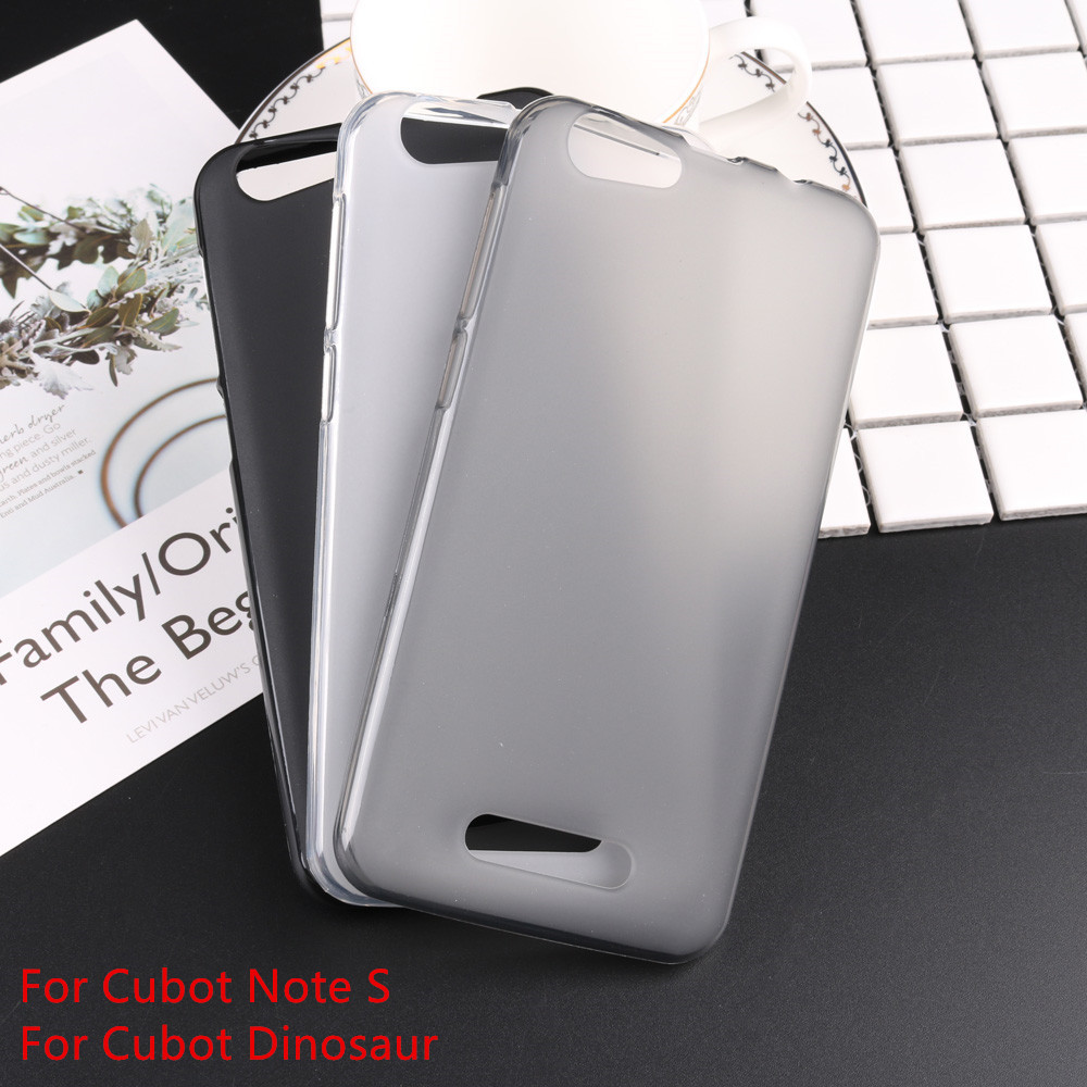 For Cubot Note S Case Matte Pudding Cover Soft TPU