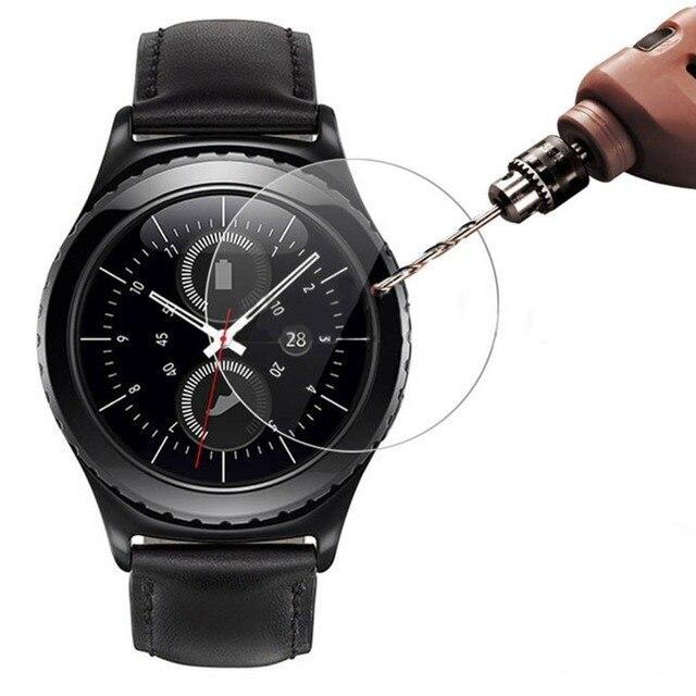 Закаленное Стекло для samsung Шестерни S3 Frontier/классические S2 Galaxy часы 46 мм 42 мм защитная пленка 3 9 H 2.5D взрывозащищенные