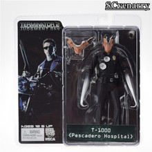 O Exterminador do Futuro 1 piece 7 inch/18 cm NECA O Exterminador Do Futuro 2 Action Figure T-1000 Pescadero Hospital Toy Figura(China)
