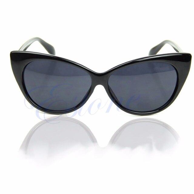 Модные женские солнцезащитные очки в стиле «кошачий глаз» в стиле ретро