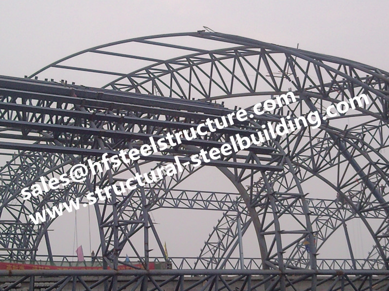 USA Europe America Standard ASTM Steel Structure Buildings For Warehouse, Shed, PEB And Workshops