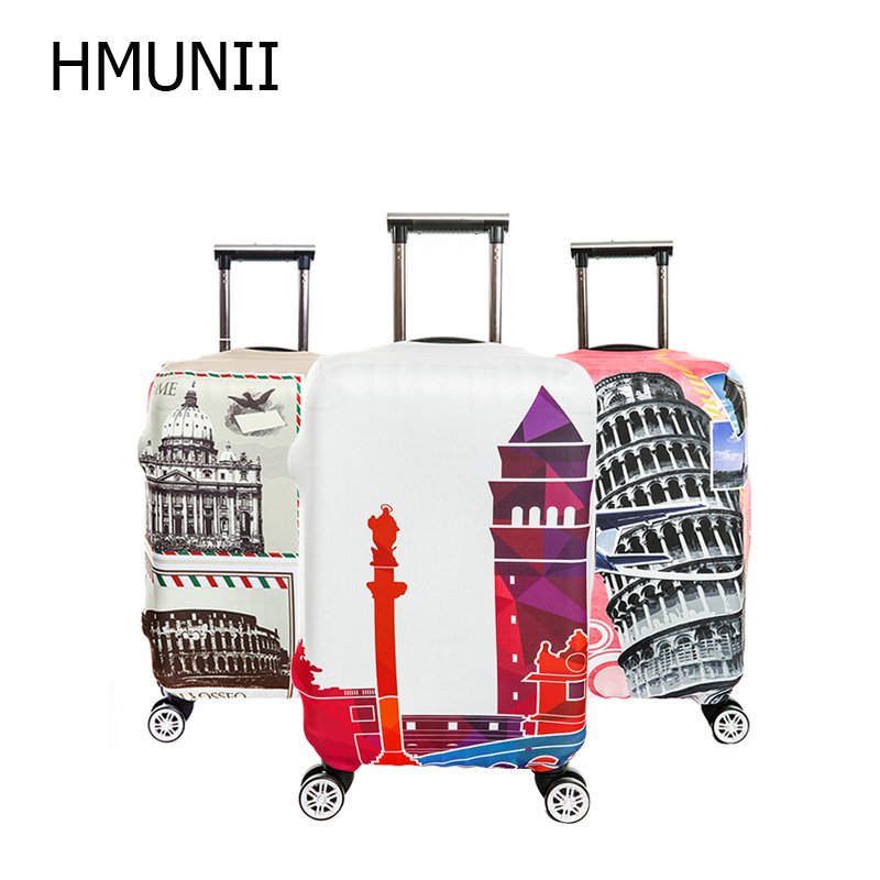 HMUNII Brand New Fashion Luggage Protective Cover For 18 to 32 inch Trolley suitcase Elastic Dust Bags Case Travel Accessories