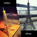 Handmade DIY 3D Puzzle Metal Earth 3D Laser Cut Model 3D Jigsaws Eiffel Tower Helicopter Tower Pisa Wing Fighter Toys Wholesale