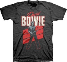 Cool Shirts New David Bowie Red Sax Short Sleeve Comfort Soft Crew Neck Shirt For Men