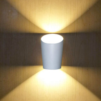 Modern Bamboo shaped LED Wall Lamp Aluminum for Living Room Bedroom Corridor Aisle Lights Indoor Wall Sconce Light Home Decor