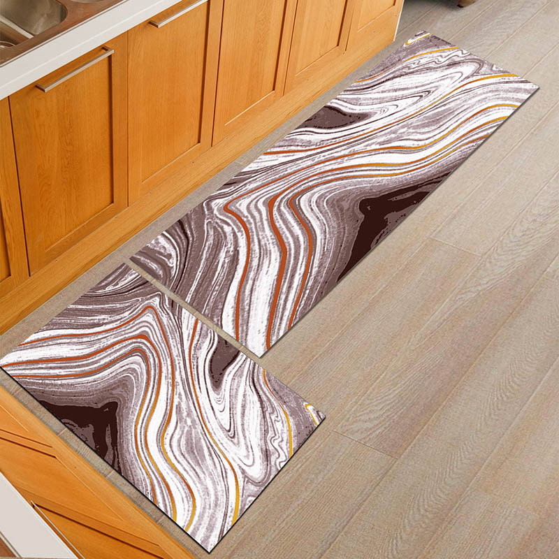 Water Absorbent Kitchen Mats with Anti Slip Bottom Suitable for Kitchen and Living Room Floor 1