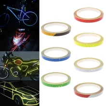 Bicycle Reflector Reflective Sticker Safety Warning Cycle Fluorescent Decal Tape