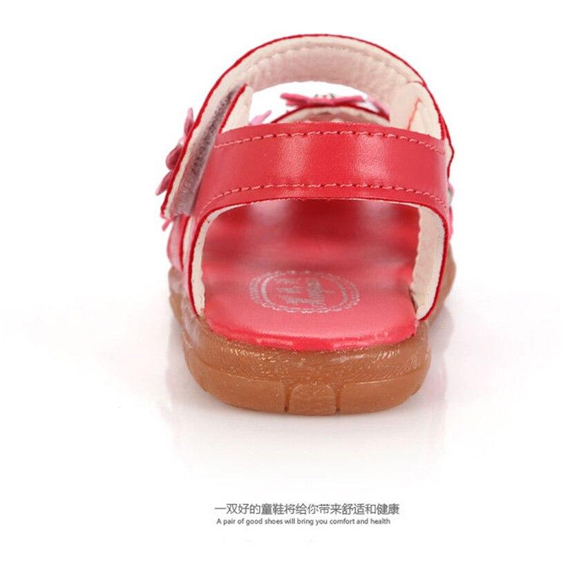 Sandalia Infantil 2016 Summer Zapatos Nina Floral Girls Sandały - Buty dziecięce - Zdjęcie 5