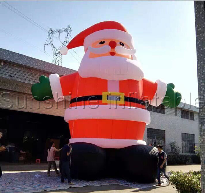 Lowes Christmas Inflatables.Us 1030 0 Hot Sale Inflatable Christmas Lowes Christmas Inflatables Inflatable Santa Claus Decorations In Inflatable Bouncers From Toys Hobbies On