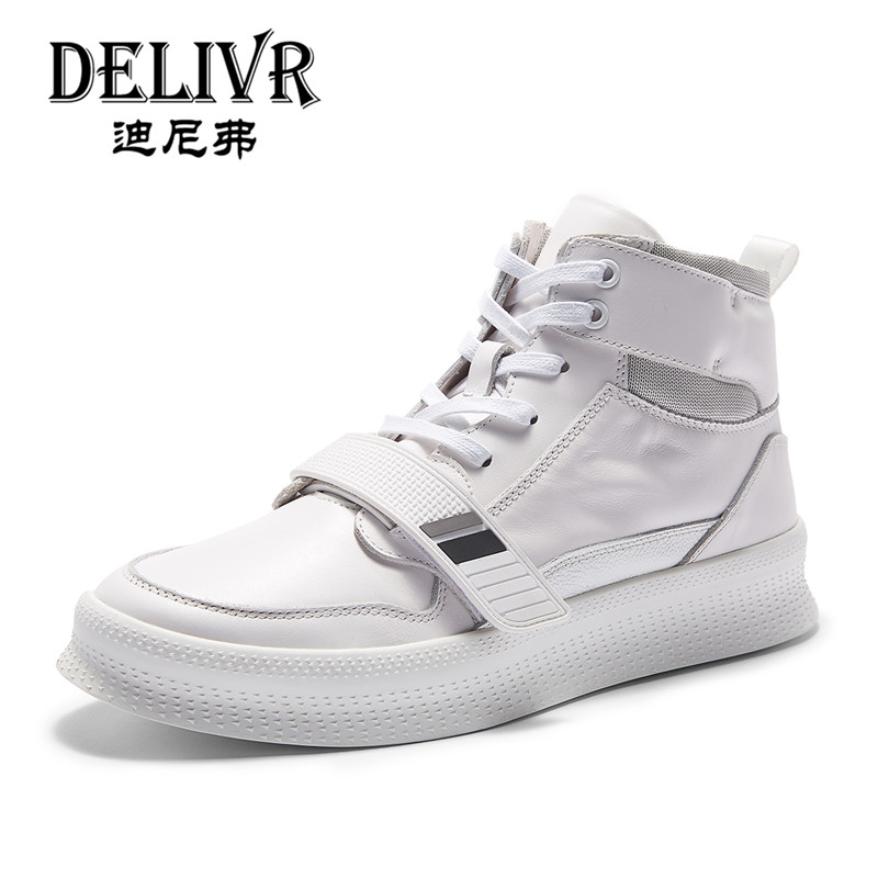 Delivr Genuine Leather Boots Mens England White High Top Martins Boot Man Shoes Luxury Brand Formal Shoes Men Sneakers Men ShoesDelivr Genuine Leather Boots Mens England White High Top Martins Boot Man Shoes Luxury Brand Formal Shoes Men Sneakers Men Shoes
