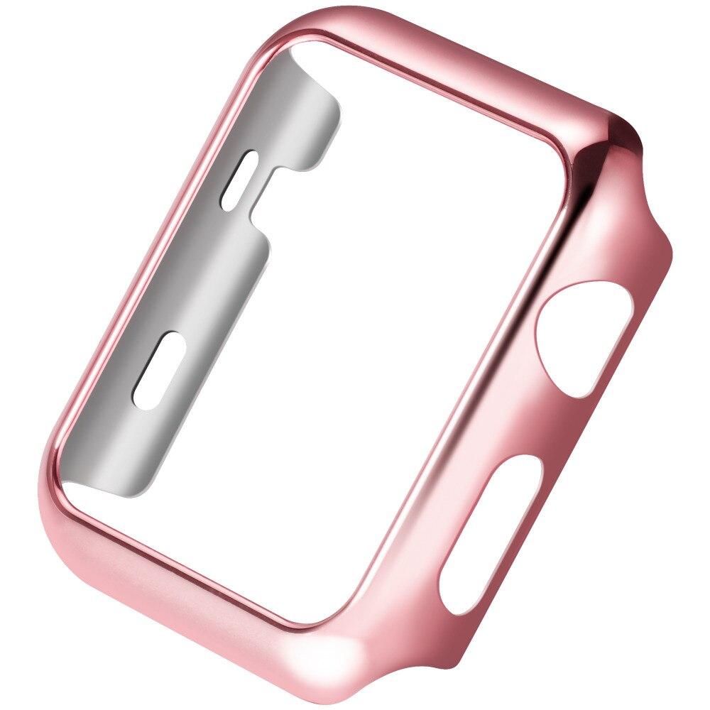 Ультратонкие Позолоченные покрытие Защитный чехол для Apple Watch series2 38 мм/42 мм