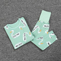 2016 ROPA de bebé ESTABLECE CONJUNTOS de PIJAMAS de bebé T 2 UNIDS ropa chicos reine des neiges vetement