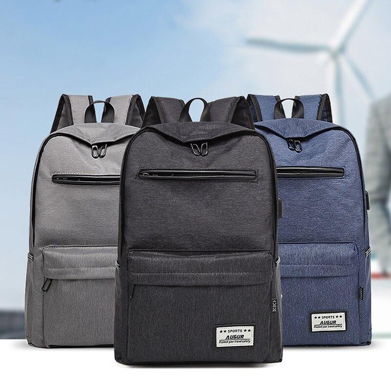 Homme sacs à dos d'ordinateur portable pour adolescent mode mâle Mochila Escolar Feminina garçon cartable voyage sac à dos décontracté Oxford sac 972