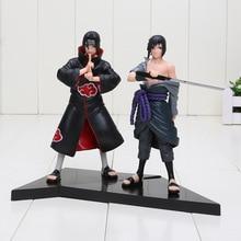 15cm Sasuke Uchiha + Itachi Uchiha 2Pcs Set Action Figure