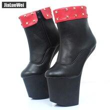 Hoof Black boots Color