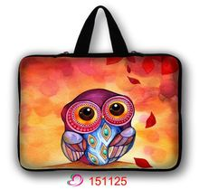 Colorful Night Owl Laptop Sleeve Bag Notebook case For Macbook Air 11 13 Pro 13 15 17 Retina Ipan Mini 1 2 3 SURFACE Pro 12